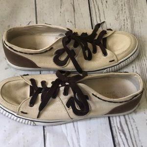 True Religion Men's  Canvas sneakers tan 12